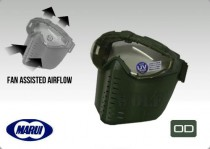 Tokyo Marui Pro Goggle Full Face Mask with Fan OD