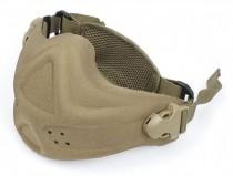 TMC Neoprene Hard Foam Mask (Khaki)