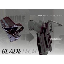 "Blade-Tech WRS Duty Holster DOH Tek-Lok XDM 5"" Black LH"