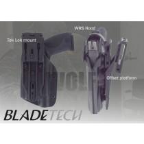 """Blade-Tech WRS Duty Holster DOH Tek-Lok XDM 5"""" M3X Black RH"""