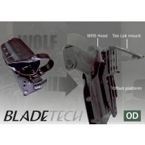 Blade-Tech WRS Duty Holster DOH Tek-Lok Glock 17 OD LH