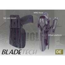 Blade-Tech WRS Duty Holster DOH Tek-Lok Glock 17 M3 Tan RH