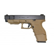 WE Glock 33 Advance GBB Pistol (Tan)