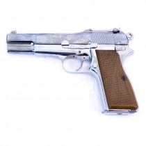 WE Browning High Power GBB Pistol (Silver)