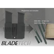 Blade-Tech Millennium Pistol Mag Pouch Molle Lok Glock Black