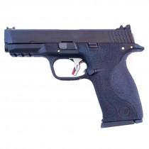 WE Force Big Bird (Black Slide/Gold Barrel) Black GBB Pistol