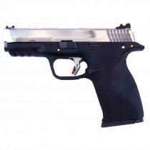 WE Force Big Bird (Silver Slide/Gold Barrel) Black GBB Pistol
