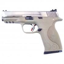 WE Force  Big Bird (Silver Slide/Gold Barrel) FDE GBB Pistol