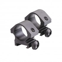 ASG Strike Systems Pro Optic Low 25mm Scope Mount Rings