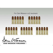 ASG Cartridge Shells for Dan Wesson 6mm (Bag of 25)