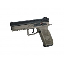 ASG CZ P-09 GBB Pistol with Case (FDE)