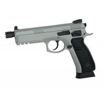 ASG CZ SP-01 SHADOW CO2 Gas Airsoft Pistol with Threaded Barrel - Urban Grey