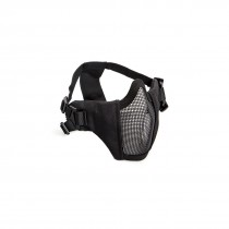 ASG Lower Face Mesh Mask with Cheek Pads Black