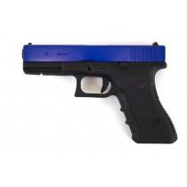WE Glock 17 Gen 3 GBB Pistol (Blue)