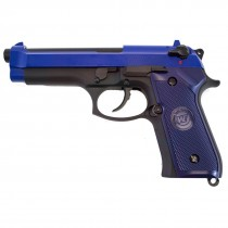 WE Beretta M92 Gen 2 Airsoft GBB Pistol (Blue)