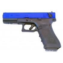 WE Glock 18 Gen 4 GBB Pistol (Blue)