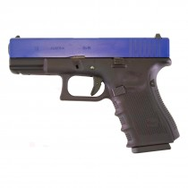 WE Glock 19 Gen 4 Airsoft GBB Pistol (Blue)