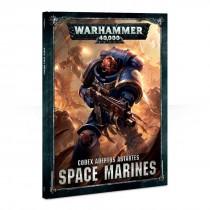 Games Workshop Warhammer 40,000 Codex: Space Marines (Hardback)