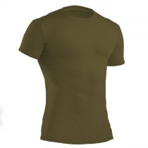 Under Armour Tactical HeatGear Compression S/S Tee (Olive) - XXL