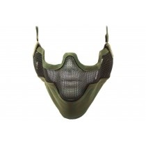 Nuprol Airsoft Mesh Lower Face Shield V2 - Green