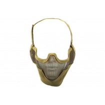Nuprol Airsoft Mesh Lower Face Shield V2 - Tan