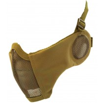 Nuprol Airsoft Mesh Lower Face Shield V3 - Tan