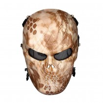 Big Foot Tactical Skull Airsoft Mask with Mesh Eyes (Nomad)
