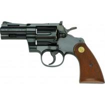 """Tanaka Colt Python .357 3"""" Steel Jupiter Finish Revolver"""