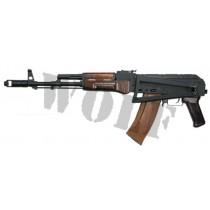 Guarder AKS-74 All Steel Kit Wood Handguard/Folding Stock