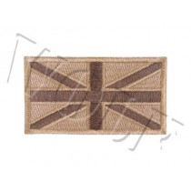 Viper Subdued Union Jack Patch Pair Desert