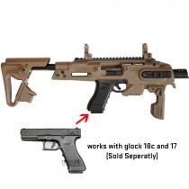 CAA Airsoft RONI Conversion Kit Glock Series - Dark Earth