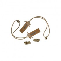 Bolle Tactical Elastic Goggle Fixtures - Tan