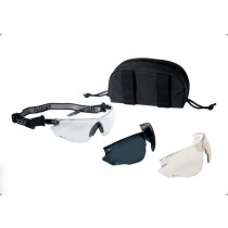 Bolle Tactical COMBAT Ballistic Glasses Kit - Black