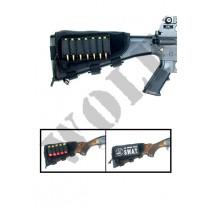 Guarder Ammo Cheek Pad for Rifle/Shotgun - Black