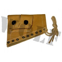 Right Cotton Stock Pouch Double Mag Type for M1 Garand