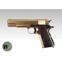WE Colt 1911 Gold Version GBB Pistol