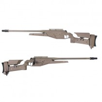 King Arms Blaser R93 LRS1 Dark Earth Spring Sniper Rifle