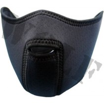 King Arms Neoprene Mask Half Face Black