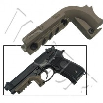 King Arms Pistol Laser Mount M9 - Dark Earth