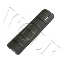 King Arms Rail Cover 135mm - Black