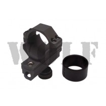 King Arms Scope Ring with Inserts for M16