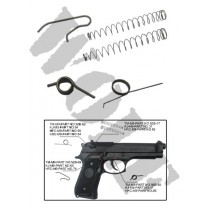 King Arms M92F Spring Set