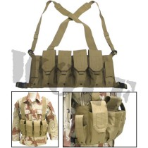 King Arms 5.56 Chest Rig Tan