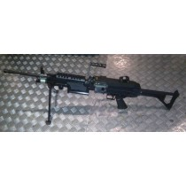 TOP M249 Japan Army Model Machine Gun AEG