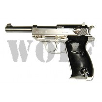 Maruzen Walther P38ac40.s Silver Pistol GBB