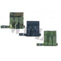 Guarder M16 Tactical Hip Magazine Holster - Black