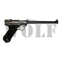 Tanaka Luger P08 8 inch Heavy Weight GBB Pistol