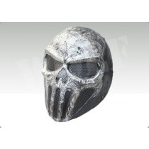FMA Punisher Skull Gray Wire Mesh Mask
