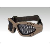 TMC Steel Wire Mesh Goggle (Khaki)