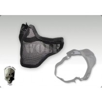 TMC Steel Mesh Half Face Mask (Black)